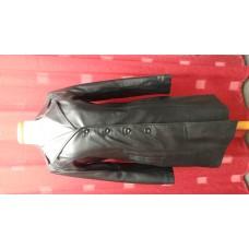 Redingotte 500 'Pleine peau' noir
