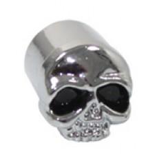 70-1010 Bouchons de valve ' Chrome Skull'