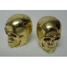 70-1011 bouchon de valve 'gold Skull'