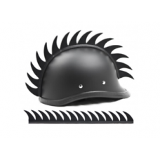 Mohawk pour casque 'DRAGON TOOTH'
