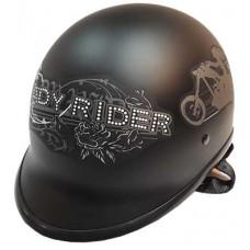 Polo 'Lady Rider' noir mat