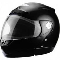 ZEUS 508B Modulaire noir GLACÉ AVEC VISIÈRE CHAUFFANTE