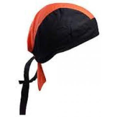 Bandana noir/orange