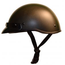 Demi-casque en Carbone avec palette