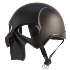Skull Face half helmet