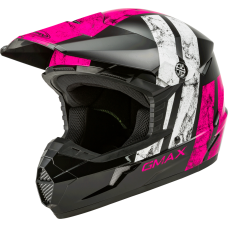 GMAX MX46 DOMINANT ROSE-BLANC-NOIR