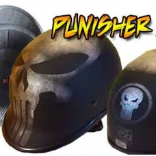 Polo 'the punisher' noir mat